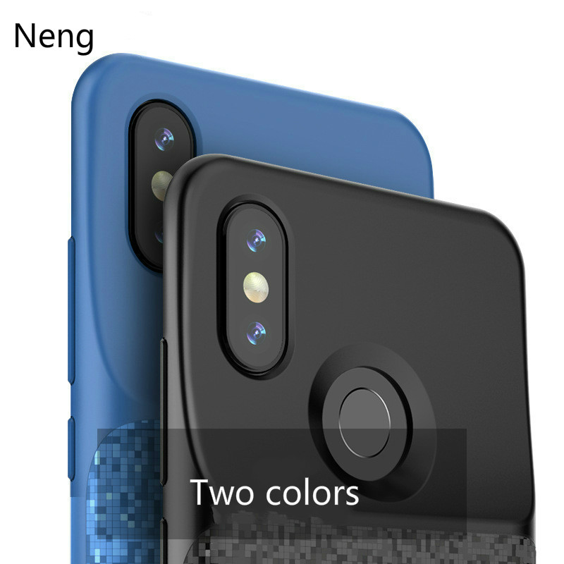 Neng New Battery Charger Case For Redmi Note 7 Pro External Charger Cover Backup Power Bank Charging Case Capa For Redmi Note 7
