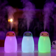 NEW 400ml Air Aroma Essential Oil Diffuser Aromatherapy USB Ultrasonic Mist Maker Desktop With 7 Color LED Night light