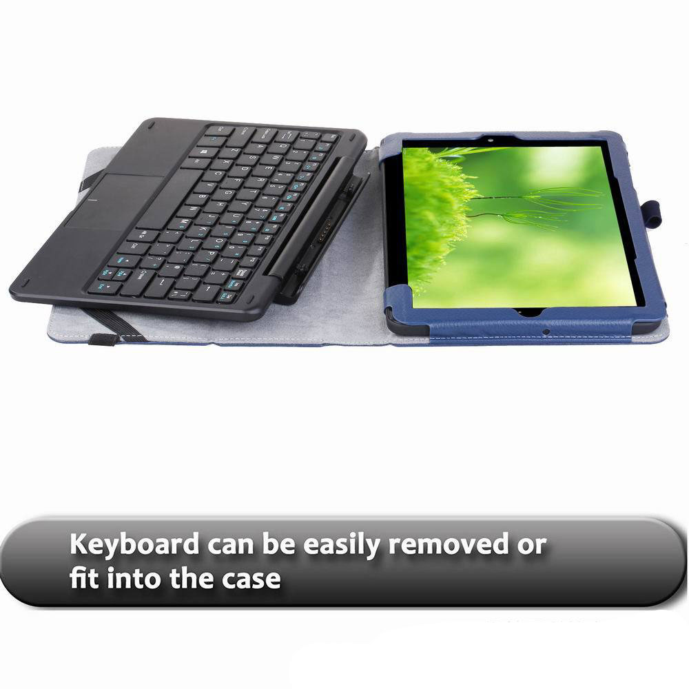 US $14 5  For Linx 1010B 1010 1020 10 1 Inch Tablet Case Cover Folio PU  Leather Slim Stand Keyboard Case Cover for Linx 1020 -in Tablets & e-Books
