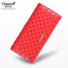 Fashion Women Wallets Designer Brand Quality Leather Clutch Purse Lady Party Wallet Female Card Holder Style Restoring Ancient