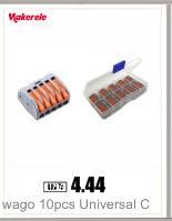 типа фирмы WAGO РСТ-212 213 215 20 штук 2 п + 3 п 20 штук + 20 штук 5 р универсальный компактный провод разъем дирижер клеммный блок