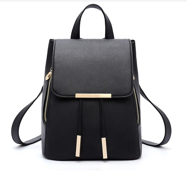 feminina kanken backpack Design Pu Women Leather Backpacks School ...