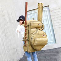 Super big Fishing Bag 80 Cm Multi function Fishing Gear Bag Waterproof Pack Fish Bag Fishing Pole Package large capacity