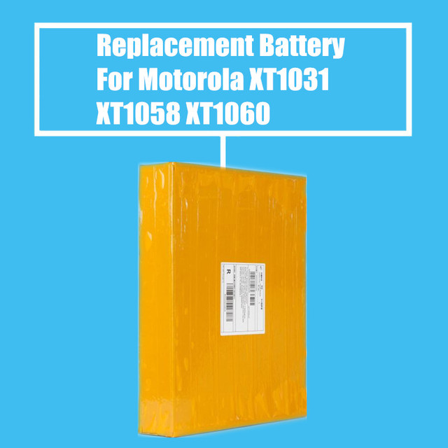 10Pcs/Pack 2010mah/2120mah Replacement Battery for Motorola XT1031 XT1033 XT1052 XT1053 XT1055 XT1056 XT1058 XT1060 High Quality