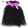 Peruvian Deep Wave With Closure 8A Peruvian Virgin Hair Bundle Deals With Closure Deep Curly Wavy Hair With Closure Deepwave