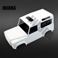 High Quality RC Rock Crawler 1 10 D90 Defender White Car Shell RC4WD Crawler D90 DIY