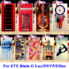 Soft TPU Hard PC Mobile Phone Cases For ZTE Blade G Lux Kis 3 Max V830 X9 V5 Grand ZMax Z970 Z Max Cover Shell Dream Catcher Bag