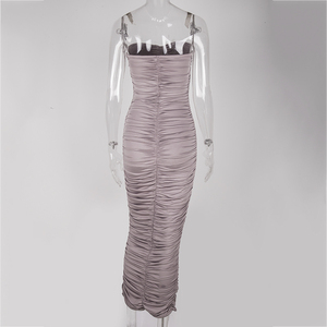 Image 5 - Newasia vestido longo sem ombro para festa, vestido feminino sexy para festa, verão 2019, slim