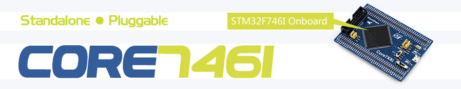 STM32F746IGT6 development board