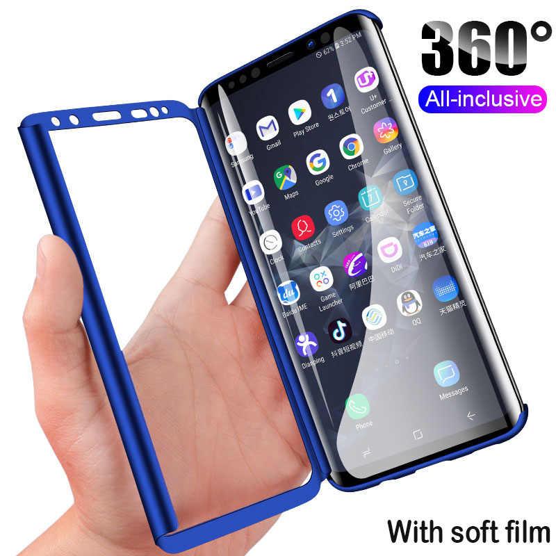 Хит 360, полный чехол для телефона samsung Galaxy S10 S10E S9 S8 Plus S7 Edge, противоударный чехол для samsung Note 9 8 с мягкой пленкой