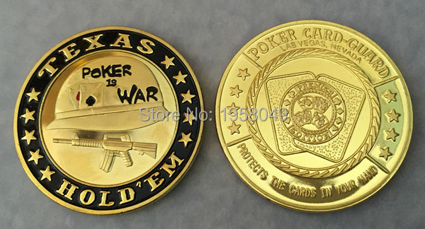 Poker chips Souvenir Coins Metal Casino Pokerstars with Plastic Cover,30pcs/lot free shipping Poker Card Guard Casino Coin