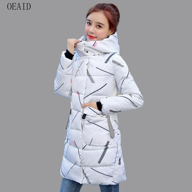 0105c2c9e4a Abrigo de mujer OEAID moda Parka Nuevo 2018 abrigo de invierno para mujer  chaquetas y abrigos