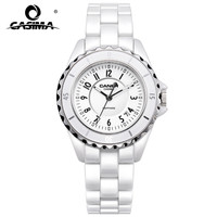 2016 Popular China Brand CASIMA Fashion Casual Quartz Women Watch Ladies Elegant Ceramic Women Watches Water