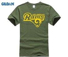 d9112c5f5 Blue T-Shirt LA Ram Footballer Fan All Sizes S-2XL Summer Fashion Funny