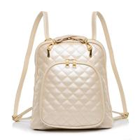 2014 New Women Handbag Bag Trend Pearl Small Fragrant Wind Quilted Fashion Backpack Factory Outlets 5