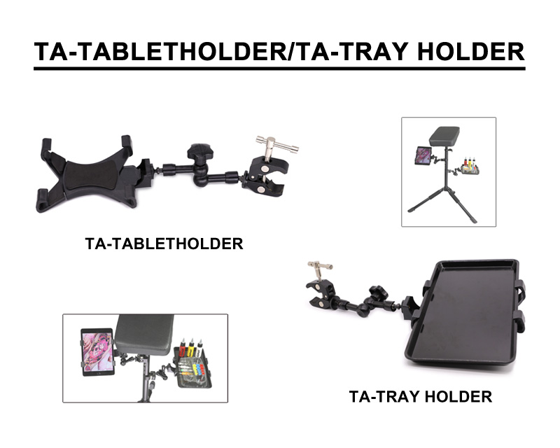 Adjustable Mini Armrest Tray / Holder