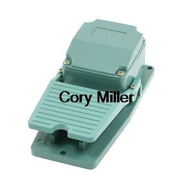AC 250V 15A Antislip Metal Momentary Industrial Foot Pedal Switch Footswitch ac 250v 15a low force hinge lever momentary micro switch microswitch