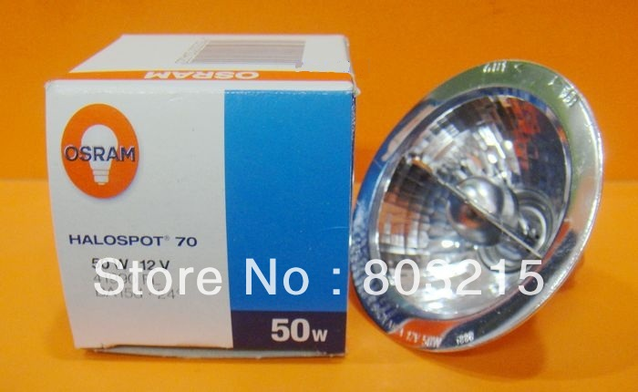 OSRAM 41990 FL 50W 12V BA15D  halogen lamp free shipping SLOVAKIA aluminum reflectors dhl free shipping osram 64604 12v 50w gy6 35 halogen bulb shimadzu uv vis spectrophotometer 12v50w tungsten lamp