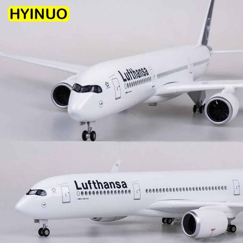 1/142 skala 47CM Flugzeug Airbus A350 Lufthansa Airline Modell W LED Licht & Rad Diecast Kunststoff Harz Flugzeug Für sammlung-in Diecasts & Spielzeug Fahrzeuge aus Spielzeug und Hobbys bei  Gruppe 2