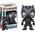 Funko Pop Капитан Америка 3 гражданская война зимний солдат Железный человек действие фигурка набор 2016 Новая военная машина черная пантера figuras игрушки