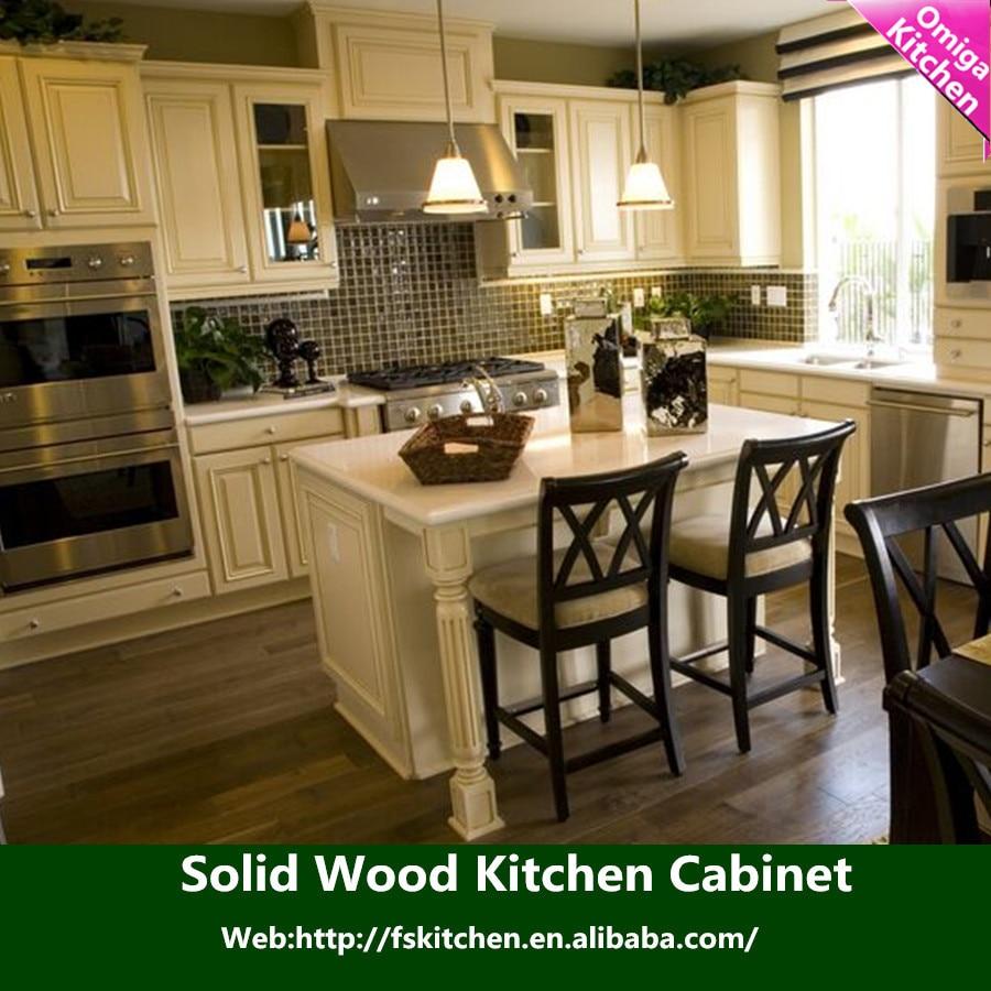 2015 nuevos productos ambiente sencillo gabinete de cocina de madera ...