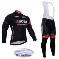 2018 New Winter Fleece Thermal Cycling Team Bora Cycling Jersey Wear Clothing Maillot Ropa Ciclismo Mtb