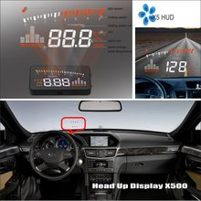 Car Computer Screen Display Projector Refkecting Windshield For Mercedes Benz CLS Class MB C219 W219 2004~2011 Driving