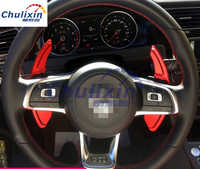 2pcs/lot for For Volkswagen VW golf 7 golf7 GTI Scirocco 2015-2017 Aluminum alloy Steering Wheel Shift Paddle Shifter Extension