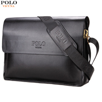 VICUNA POLO Famous Brand Men Handbags Casual Shoulder Bag For Male Leather Mens Crossbody Bag Large