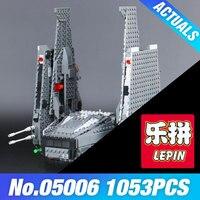 LEPIN 05006 Hot Sale 1053pcs Star Series Wars The Command Shuttle Set 75104 Blocks Kid S