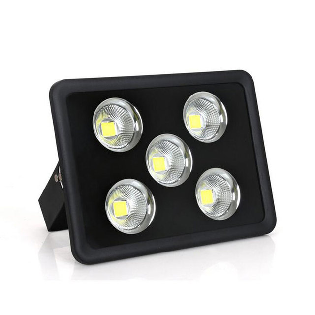 250w Led Flood Light Energy Saving Square Projection Lamp Outdoor Lighting Waterproof Wall Washing