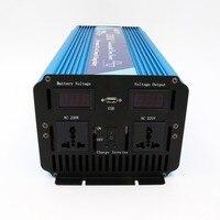 Интеллектуальный 2000 Вт Чистая синусоида Инвертор построен в зарядное устройство 12 В 220 В инвертор с заводская цена