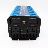 Intelligent 2000w Pure Sine Wave Inverter built in battery charger 12v 220v Power Inverter with factory price