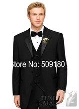 (Coat+Pants+Vest) TZ72805 2016 Custom Made Men's Wedding Suits Groom Tuxedos Fashion Suit Jacket Men Wedding Tuxedos For Men