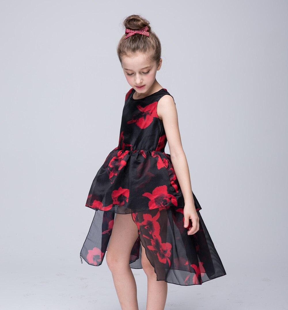 daeeb5c2dabe fashion designer 2016 Girls Princess Dress Girls yarn Dress Costume ...