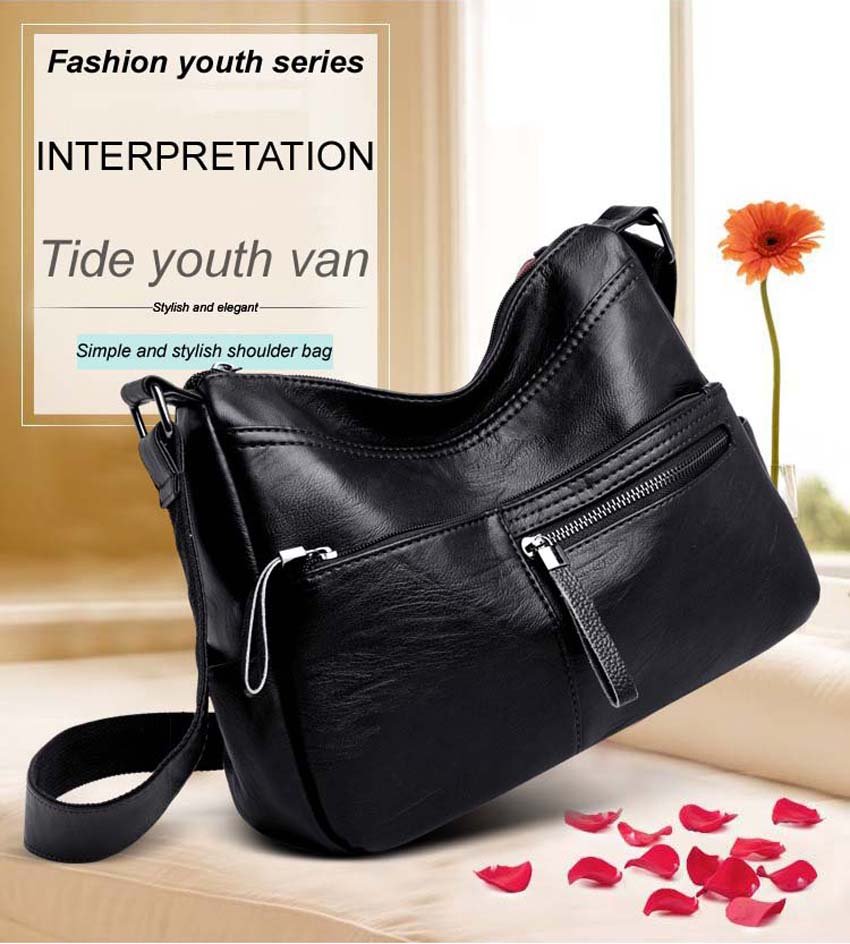 dc18a22eed4bb Women Leather Handbags Bolsa Feminina Bolsos Mujer Shoulder Bag ...