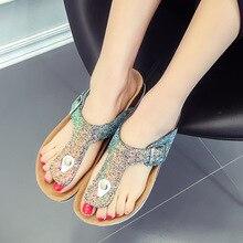 16 Color Plus Size 43 44 Women Men Beach Sandals Summer Cork Flip Flops Lady Flat Water Shoes barefoot Slippers zapatos de mujer