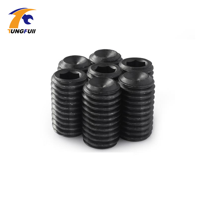 100PC/set M2x 3mm Metric Thread Carbon Steel Allen Head Hex Socket Grub Screws Bolts Fasteners Self-tapping Screw Socket Head fixmee 100pc metric thread