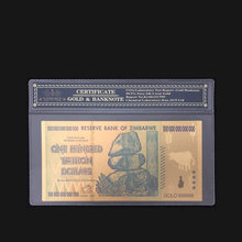 New Product For Zimbabwe Banknotes One Hundred Trillon Dollars Banknote in 24K Gold  With Frame For Collection And Gift indigenous fruits and rural livelihoods in zimbabwe