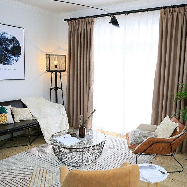 Blackout vorhänge einfarbig modernen für wohnzimmer schlafzimmer ...