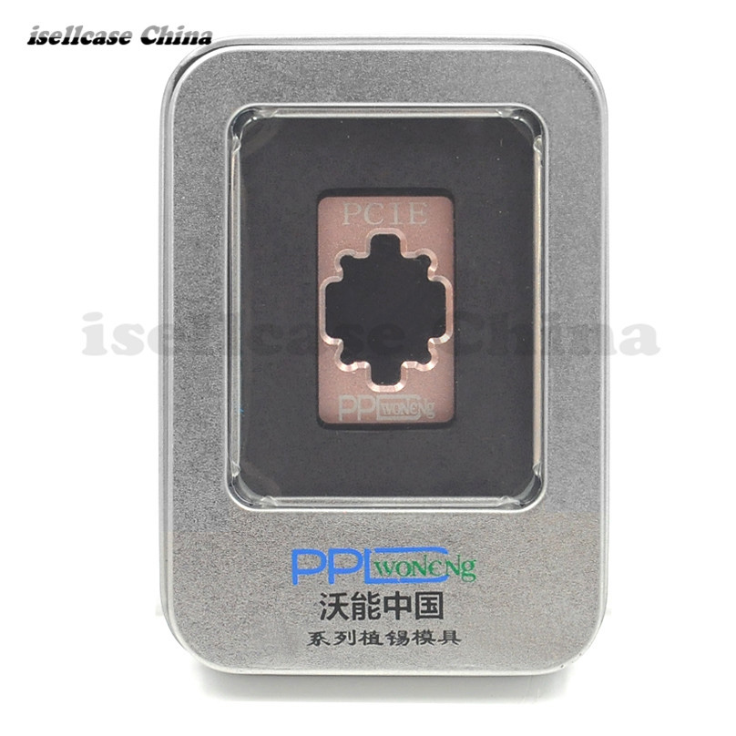 استنسیل Reboling Wozniak PPD HDD BGA برای iphone 4s 5 5 5 6 6 6s 7P Nand IC Reball Stencils ابزار کاشته قلع خالص قالب