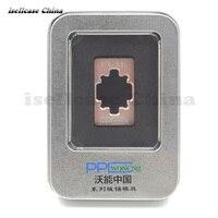HDD BGA Reballing Stencil Dedicate Kit For Iphone 4s 5 5s 6 6 6s 7Plus Nand