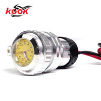 8 Colors Available motorcycle clock motorbike USB Mobile phone charger colorful sliver red blue black purple orange golden green