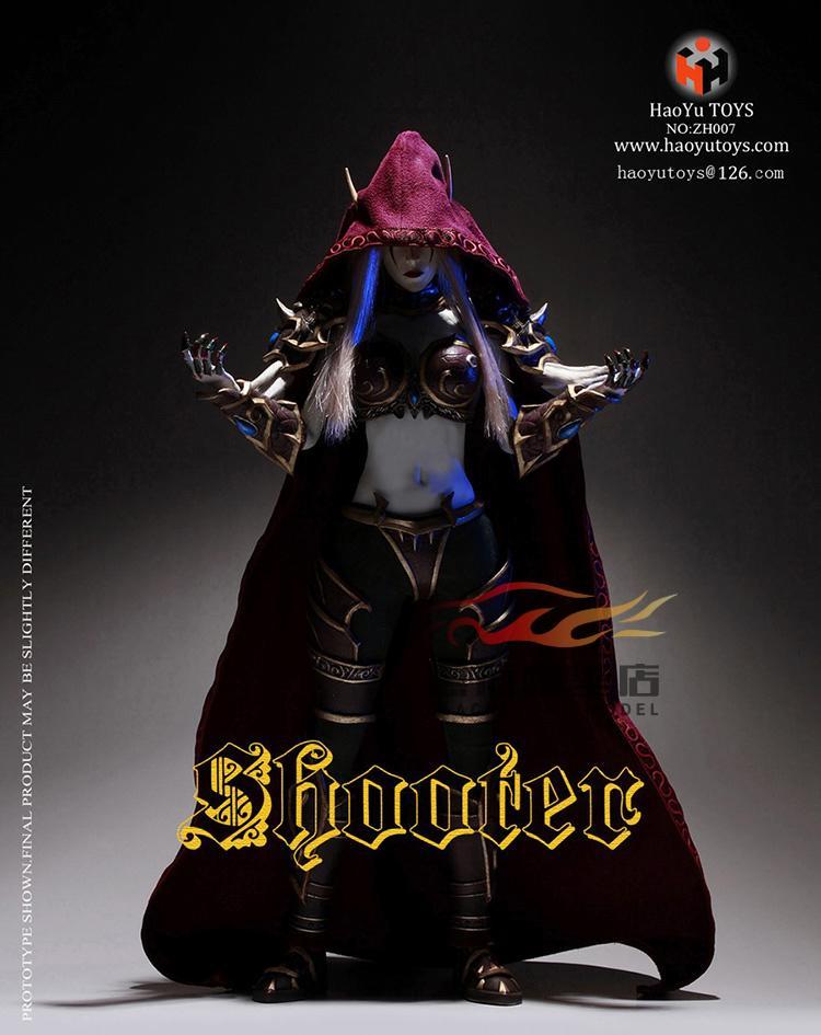 HaoYuToys ZH007 1:6 Elf Archer Wizard Archer Sylvanas Action Figure Model пазл n 3d diy zh007