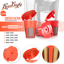 Stainless Steel Reusable Coffee Filters Capsule Cup Refillable Cycle Capsules Pods For Keurig Machines Filter K-cup