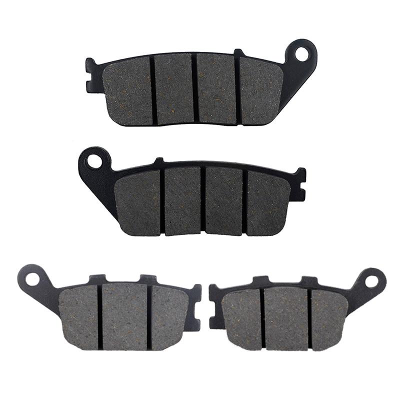 Motorcycle Front Rear Brake Pads For HONDA VT1100 C2 D2 S X Y W Shadow VTX1300 03-08 CBF500 2004 VRX400T NC33 VTX1300