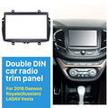 2 DIN Car Radio Frame Fascia for 2016 Daewoo Royale (Russian)/ LADA Vesta Stereo Refitting Mounted Installation Trim Bezel Kit