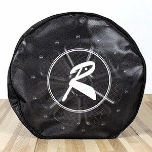 Image 1 - Rudyness黒防水雨靴下ハーレーツーリングストリートglideロードキングdyna softail sportster空気清浄機