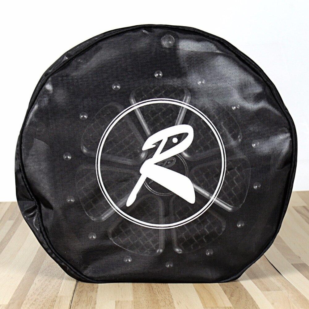 Rudyness noir imperméable à l'eau chaussette de pluie pour Harley Touring Street Glide Road King Dyna Softail Sportster nettoyeurs d'air