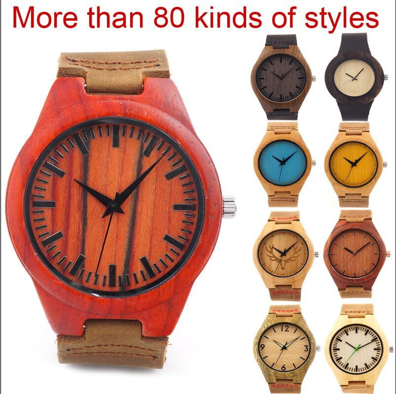 10 Styles Customized Women s Men s Luxuly Watch japanese miyota 2035 movement wristwatches genuine leather